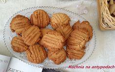 Ciastka Peanut butter   http://kuchnianaantypodach.blogspot.com.au/2015/11/ciastka-peanut-butter.html