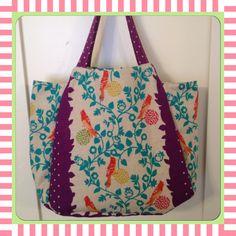 Tulip Bag made with Echino Fabric!