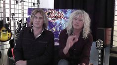 DEF LEPPARD interview with Joe Elliott and Rick Savage by Mark ...