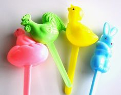 Easter Cupcake Toppers Set of 12