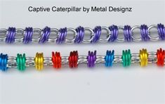 Captive Caterpillar Bracelet Kit - Metal Designz