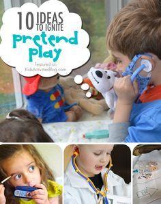 10 Ideas to Ignite Pretend Play