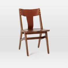 Image result for cantilever dining side chair leather