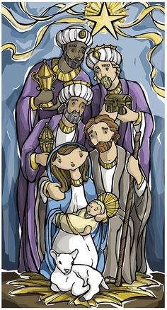 Hey, I found this really awesome Etsy listing at https://www.etsy.com/listing/65343764/epiphany-prayer-card-three-kings