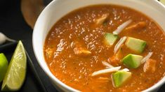 Soup recipes that beat the chill Easy Soup Recipes, Healthy Recipes, Coconut Soup, Fire Roasted Tomatoes, Monterey Jack Cheese, Pumpkin Soup, How To Cook Chicken, Healthy Cooking, Lime