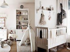 Białe meble w stylu skandynawskim do pokoju dziecięcego (48142)