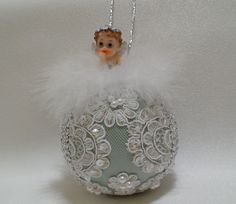 Baby's First Christmas by ShabbyChicXmas on Etsy