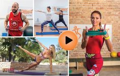 Cviky na doma online videá zadarmo Body Fitness, Zumba, Hiit, Workout, Sports, Hs Sports, Work Outs, Sport, Exercise