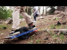 Onewheel - The Revolutionary Electric Boardsport. 200W Brushless Motor, 4-6mile range, >30 degrees max angle, 12MPH, 25lbs (USD1,499)