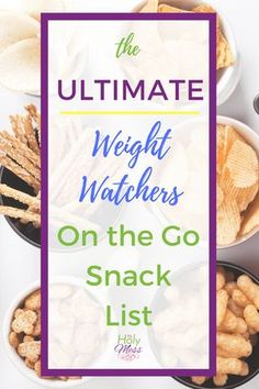 When you are following the Weight Watchers Freestyle program, it's helpful to know which snacks you can grab and go that won't use all of your Smart Points. Use the Ultimate Weight Watchers On the Go Snack List to decide which are the best options for you.