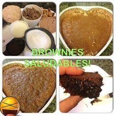En una batidora colocar 1 taza de edulcorante granulado @truviaVE, 1/2 taza de mantequilla natural de mani o almendras   2 huevos enteros   1 cucharada de vainilla   1 taza de whey protein chocolate   3/4 tazas de almendras molidas (harina de almendras)   1 cuchara de polvo para hornear   1 taza de chocochip sin azucar o chocolate oscuro sin azucar   1/2 taza de leche de almendras   1/4 taza de cacao en polvo   1 taza de nueves picadas! Hornear por 20 a 25 min a 180 grados! Buen provecho!!!