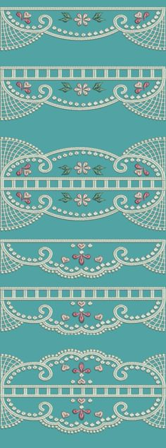 TS1160 - Continuous Broderie Anglaise Lace Edgings 5
