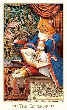 The Emperor - Baroque bohemian cats