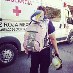 Cruz Roja Mexicana, Delegación Querétaro PRB3 Pink de Meret. EMS México     Equipando a los Profesionales