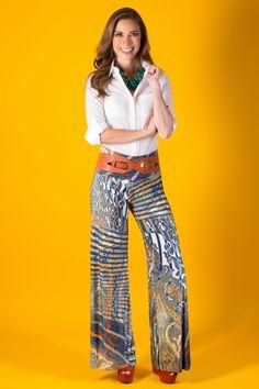 Los pantalones estampados están de moda y en KAMI los tenemos para ti.