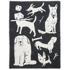 Koirapuisto Finnish Wool Blanket   Hus & Hem