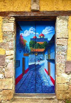 "A Jurubeba Cultural:       ● Uma visão de Arte.... Um a porta. ("" Casa de Venustiano Carranza"". Mineral del chico. Hidalgo, México)."