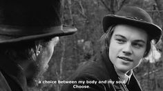 Leonardo Dicaprio as Arthur Rimbaud