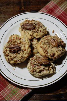 Pecan Cookies  look really yummy!