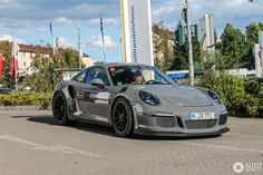 Porsche 991 RS in Kaiserslautern, Germany Spotted on by TB Carspotting Porsche Turbo S, Porsche 991 Gt3, Nardo Grey, Volkswagen, Gt3 Rs, Dream Garage, Cool Cars, Dream Cars, Ocean City