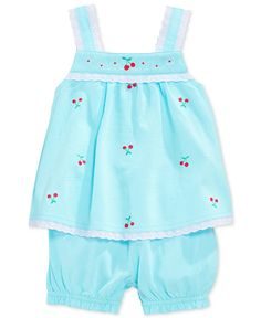 First Impressions Baby Girls' 2-Piece Top & Bloomers Set - Kids Baby Girl (0-24 months) - Macy's