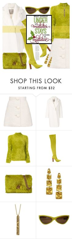 """""""Untitled #514 12/17/17  2:35pm"""" by riuk ❤ liked on Polyvore featuring Ermanno Scervino, Marni, Nasty Gal, Tory Burch, Alex Soldier, Rachel Rachel Roy and Miu Miu"""