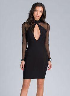 Work Your Angles Bodycon Dress BLACK - GoJane.com
