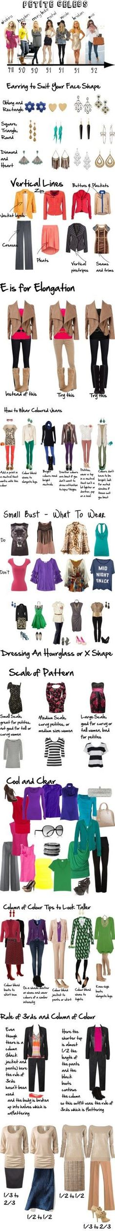 Jackie M. Style: Petite Dressing: How to dress your silhouette