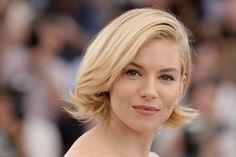 Le carré court de Sienna Miller au Festival de Cannes 2015