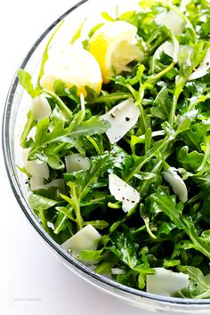 Arugula Salad with P