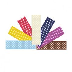 7/8 Inch dot ribbon from yama ribbon online store,the price is $2.1 Wholesale Ribbon, Grosgrain Ribbon, Dots, Store, Stitches, Larger, Shop