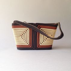 Just Listed 1940s Telephone Cord Purse