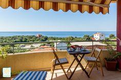 Balkon, Ferienwohnung MASLINA