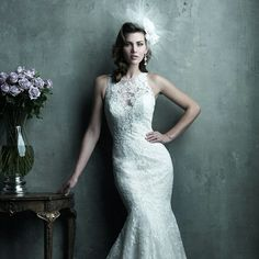 Gorgeous Sheer Illusion Neckline & Back Mermaid Lace Wedding Dress http://www.ckdress.com/gorgeous-sheer-illusion-neckline-back-mermaid-lace-wedding-dress-p-1144.html  #wedding #dresses #party #Luckyweddinggown #Luckywedding #design #style #weddingdresses #bridaldresses #love #me #cute #beautiful #girl #shopping #lovely #clothes #instagood #follow #fashion
