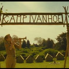 Camp H. sign?