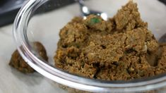 Vegan ground meat made with lentils, sweet potato, mushrooms, celery, carrot and chickpea flour Delicious Vegan Recipes, Vegetarian Recipes, Yummy Food, Marilyn Denis Show Recipes, Vegan Side Dishes, Vegan Burgers, Ground Meat, A Food