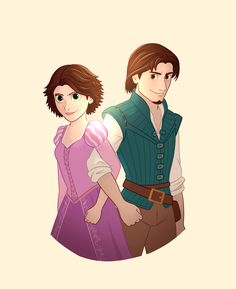 I'm not afraid anymore!, agostaini: I can't wait for the tangled tv show to. Tangled Tv Show, Disney Tangled, Disney Magic, Disney Pixar, Walt Disney, Princess Rapunzel, Disney Princess, Rapunzel And Eugene, Adventures By Disney