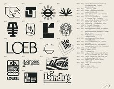 "Logotipos años 70 (""World of Logotypes"")"