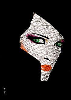 La Voilette, 1985.....Rene Gruau Fashion Illustrator