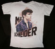 Max Schneider t-shirt. Small please! Celebrity Couples, Celebrity News, Max Schneider, Shane Harper, Cher Lloyd, Duggar Family, Duchess Kate, Grace Kelly, Classic Hollywood