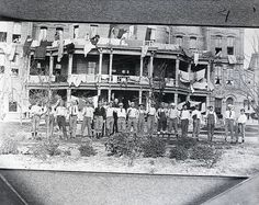 Texas A & M's Ross Hall in 1903
