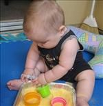 HUNDREDS of activities for newborns to 5 year olds that are organized by every 6 months of their age.