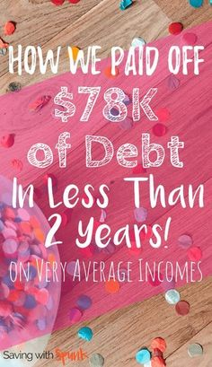 They used the debt snowball and other habits to get out of debt. Such a practical guide on how to pay off debt! Great debt payoff story.