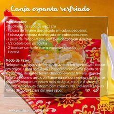 Mais uma receita para o seu caderninho de sabores <3 #canjaespantaresfriado #imunidade #alimentaçãoinfantil