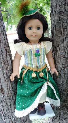 "18"" Doll Clothes Fun, Fantasy Pirate / Steampunk Outfit Fits American Girl and Similar Dolls"