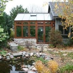 Exterior greenhouses Design Ideas, Pictures, Remodel and Decor #conservatorygreenhouse