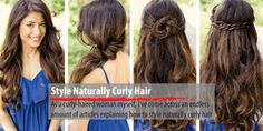Finding The Perfect Style Naturally For Curly Hair? Read The Article Of Effective Strategies for How To Style Naturally Curly Hair Naturally Curly, Things That Bounce, Curls, Curly Hair Styles, Dreadlocks, Nature, Curling Iron, Style Hair, Beauty