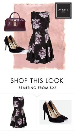 """The Sublime in Purple"" by averyverse on Polyvore featuring Rothko, JustFab, handbag, luxury and averyverse"