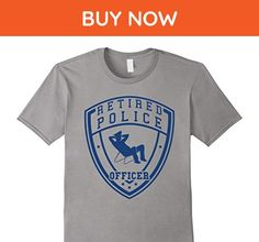 Mens Retired Police Officer Shirt | Funny Police Shirt 3XL Slate - Funny shirts (*Amazon Partner-Link)