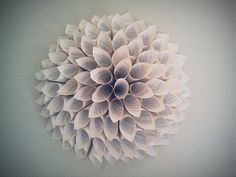 Flower Book Page Wall Art by Nightingale4321 on Etsy, $20.00